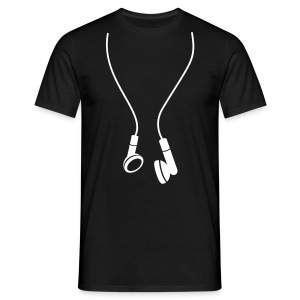 cool earphones top - Men's T-Shirt