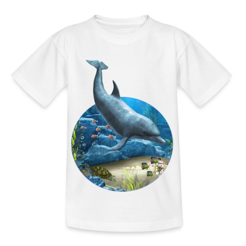 The world of the Dolphin - Kinder T-Shirt