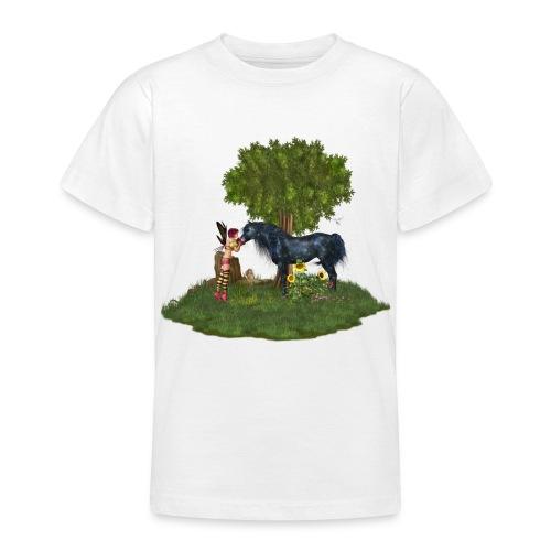 The Last Black Unicorn - Teenager T-Shirt