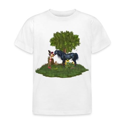 The Last Black Unicorn - Kinder T-Shirt