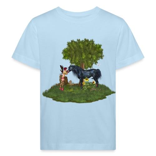 The Last Black Unicorn - Kinder Bio-T-Shirt