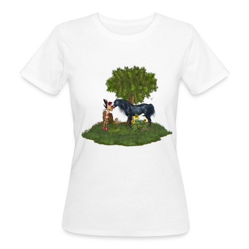 The Last Black Unicorn - Frauen Bio-T-Shirt