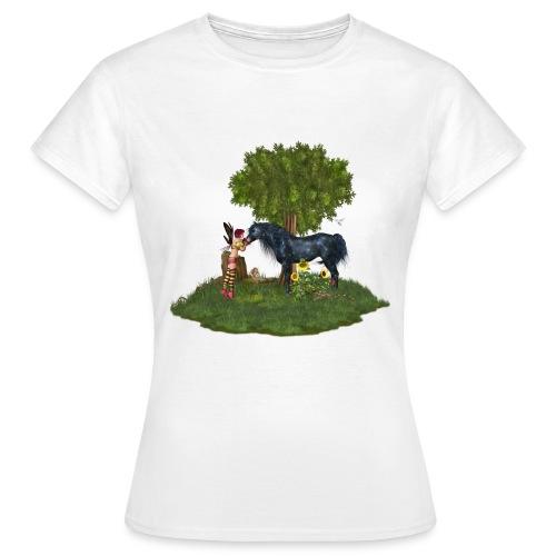 The Last Black Unicorn - Frauen T-Shirt