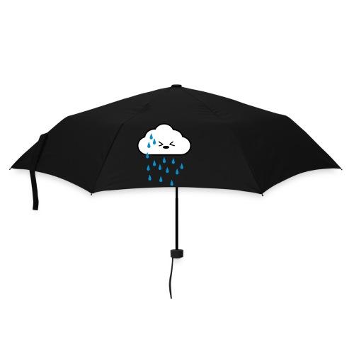 Papraplu zwart- Rain - Paraplu (klein)