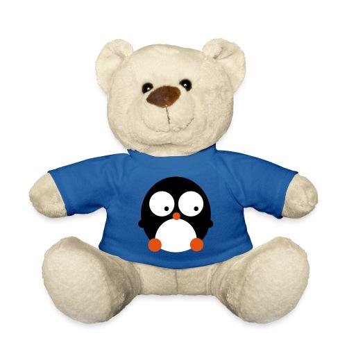 Teddybear Blauw- Pinguin - Teddy