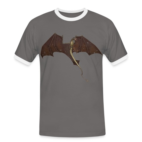 Dragon - Männer Kontrast-T-Shirt