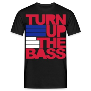 turn up the bass men t-shirt - Men's T-Shirt