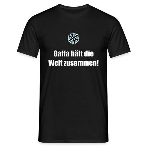 Gaffa hält die Welt zusammen - Männer T-Shirt
