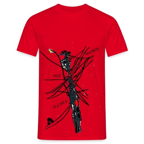 TRAFFIC IN VIETNAM - T-shirt Homme
