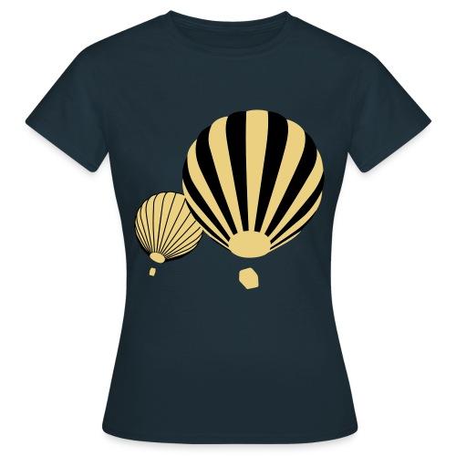 Heißluftballons - Frauen T-Shirt