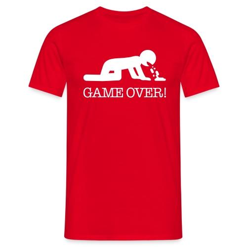 Modello gameover uomo rosso - Maglietta da uomo