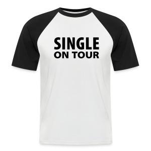 Single on tour.. Shit Happends - Mannen baseballshirt korte mouw