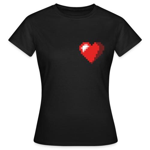 8 Bit Herz (Frauen) - Frauen T-Shirt