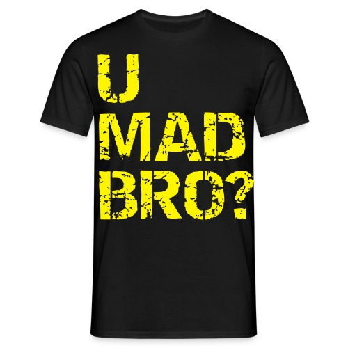 U MAD BRO T-SHIRT - Herre-T-shirt