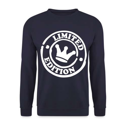 Mens LTD ED sweatshirt - Navy Blue - Men's Sweatshirt