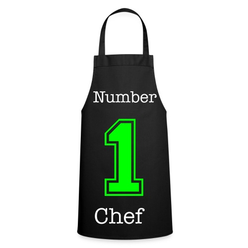 number 1 chef - Cooking Apron