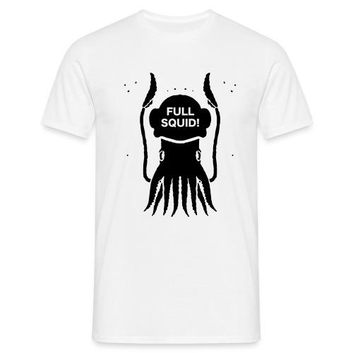 FULLSQUID! HELM BLACK - Men's T-Shirt