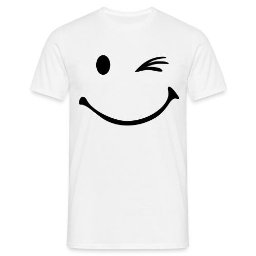 Mens Wink T-Shirt - Men's T-Shirt