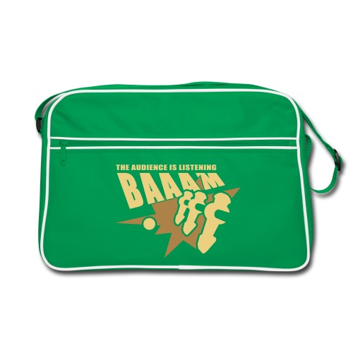 Kickertasche | BAAAM the audience is listening! - Retro Tasche