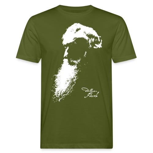 William Booth Signature (weiß) - Männer Bio-T-Shirt