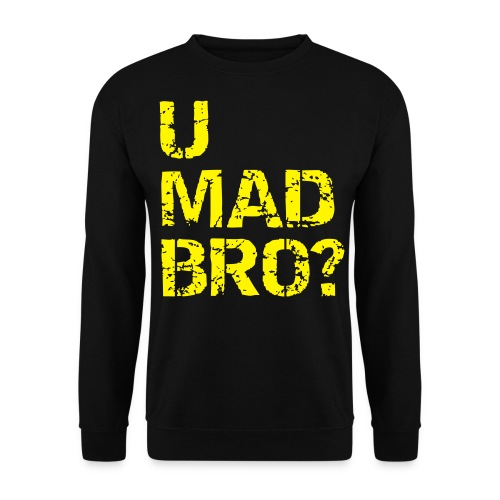 U MAD BRO SWEATER - Herre sweater