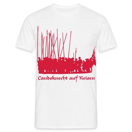 Landsknecht auf Reisen II FRONT - Männer T-Shirt