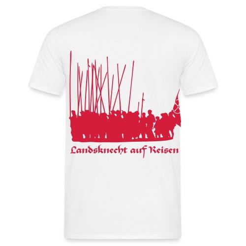 Landsknecht auf Reisen II BACK - Männer T-Shirt