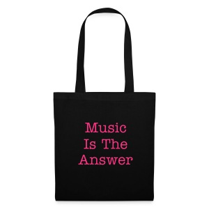 Music is the answer tote - Tote Bag