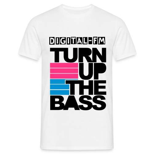 DFM - Turn up the bass - Homme - T-shirt Homme