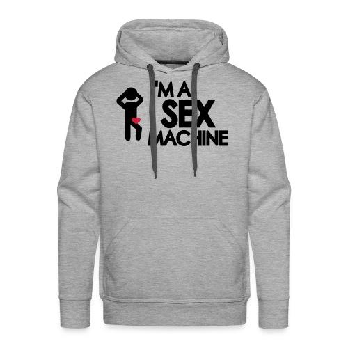 Sex Machine - Herre Premium hættetrøje