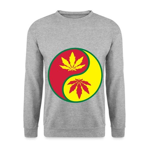 Ying-Yang Weed Sweatshirt - Men's Sweatshirt