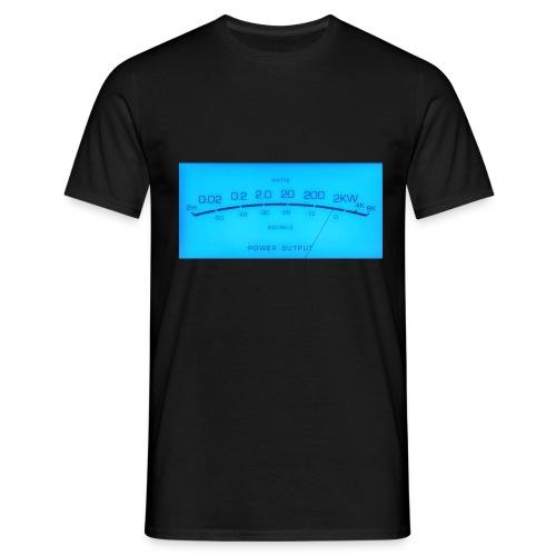 VU-Meter black - Männer T-Shirt