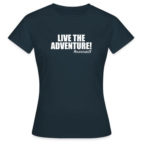 Live The Adventure MTB T-Shirt (Women's) - Women's T-Shirt