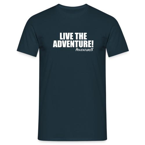 Live The Adventure MTB T-Shirt (Men's) - Men's T-Shirt