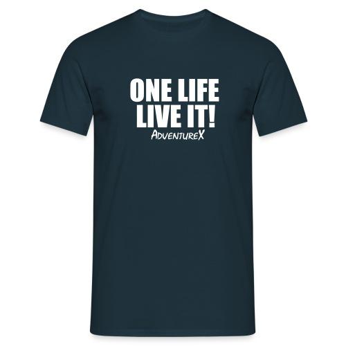 One Life Live It T-Shirt (Men's) - Men's T-Shirt