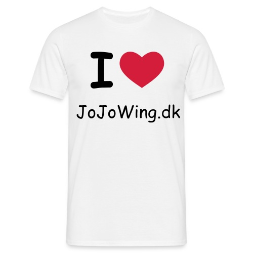 JoJoWing white - Herre-T-shirt