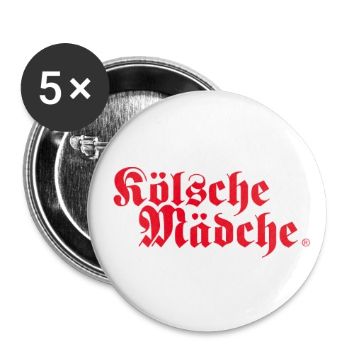 Kölsche Mädche Classic - Buttons klein 25 mm