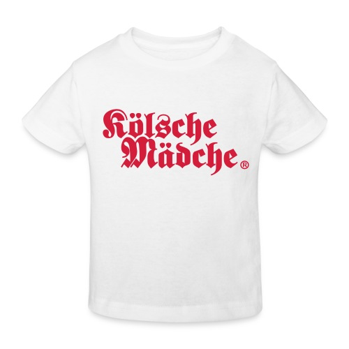 Kölsche Mädche Classic - Kinder Bio-T-Shirt