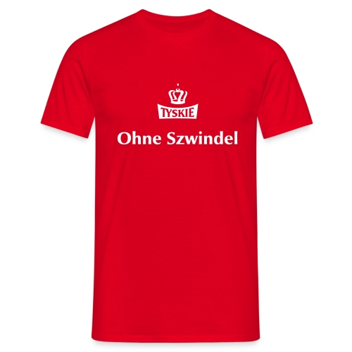 Ohne Szwindel rot/m - Männer T-Shirt