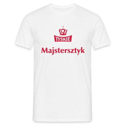 Majstersztyk weiß/m - Männer T-Shirt