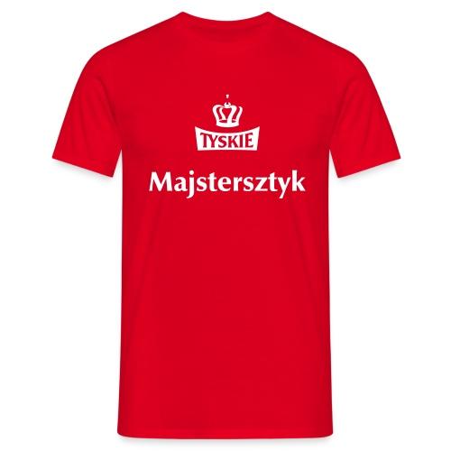 Majstersztyk rot/m - Männer T-Shirt