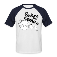 Camisetas ~ Camiseta béisbol manga corta hombre ~ Come come camiseta hombre