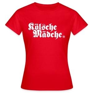 Kölsche Mädche Classic - Frauen T-Shirt