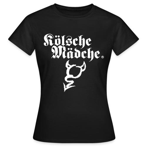 Kölsche Mädche Devil - Frauen T-Shirt