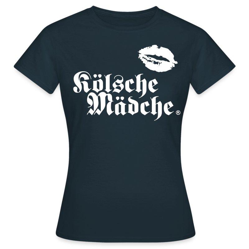 Kölsche Mädche Kiss - Frauen T-Shirt