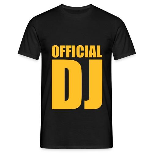 Camiseta hombre DJ - Camiseta hombre
