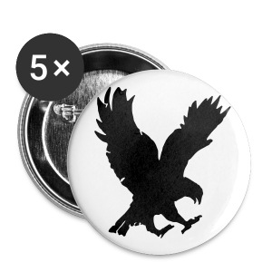 Badge aigle Lollipop - Badge moyen 32 mm