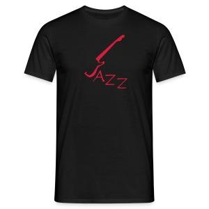 T-shirt  für Jazzliebhaber mit Motivschriftzug Jazz  - Männer T-Shirt