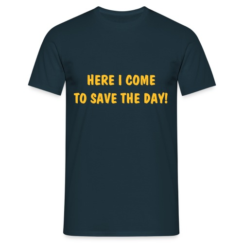 Mighty Mouse - Here I Come To Save The Day! - Men's T-Shirt
