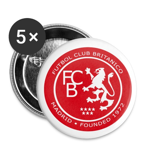 FC Británico de Madrid Badges - Buttons small 25 mm